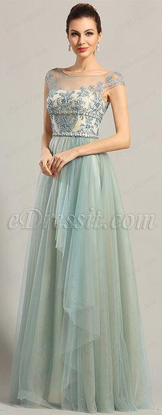 Formal dress with asymmetrical skirt! #edressit #formal #evening_dress #fashion #trend