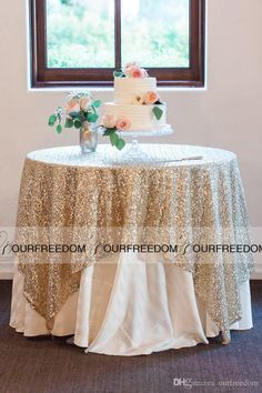 Round Champagne Sequin Cloth Sequin TableCloth Wholesale Sequin Table Cloths Sparkly Champagne Table Sequin Linens High Quality Custom Made Online with $12.57/Meter on Ourfreedom's Store | DHgate.com