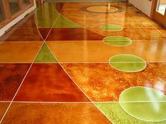18 Best Concrete Stained Floors Images In 2014 Flooring