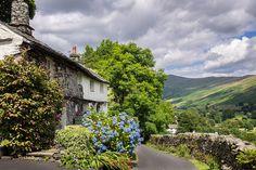 Walking into Troutbeck, Lake District
