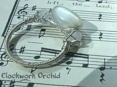 Moonstone in the Night by Vicky The Clockwork Orchid on Etsy