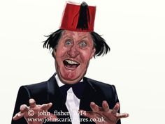 Tommy Cooper..