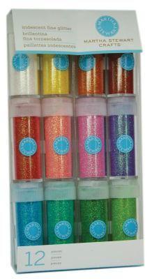 Martha Stewart Crafts™ Iridescent Glitter 12 Pack