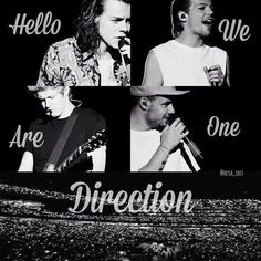 Hello we are One Direction!!