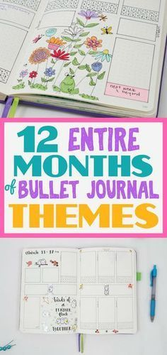 Bullet journaling ideas that are perfect for creating awesome theme ideas.