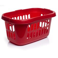Wilko Hipster Laundry Basket Red £3