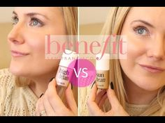 BENEFIT HIGHBEAM VS SUNBEAM COMPARISON REVIEW | TheInsideOutBeauty.com by Heidi - YouTube