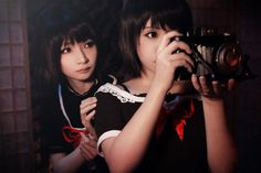 Fatal Frame 2 Crimson Butterfly-Sisters - Camera by ~Sakina666 Photography / People & Portraits / Cosplay©2013 ~Sakina666 Fatal Frame 2 Crimson Butterfly (零~紅い蝶~)