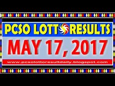 Watch the PCSO Lotto results video today, June 2017 (Thursday). The lotto games that are featured in this video are Lotto Results Lotto & Swertres . Lotto Results, Lotto Games, Lottery Tips, May, Positive Affirmations, June, Watch, Thursday, Clock