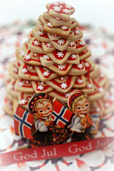 Kransekake for Scandinavian Christmas