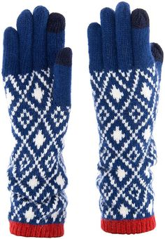 Wool Blend, Gloves, Winter, Blue, Fashion, Winter Time, Moda, Fashion Styles, Mittens