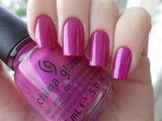 China Glaze Fly   #EssentialBeautySwatches   BeautyBay.com China Glaze Nail Lacquers #chinaglaze #OPI @opulentnails