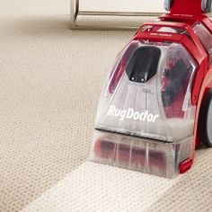 Cleaning Carpet With Rug Doctor Professional Dry Equipment