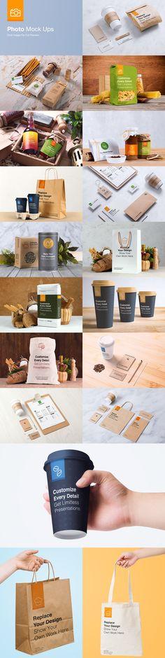 Coffee Branding And Packaging Mock Up Pack