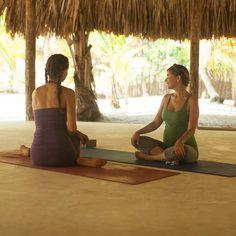 hyde yoga organic cotton on retreat   www.yogahyde.com #hydeyoga #organicyoga #beachasana