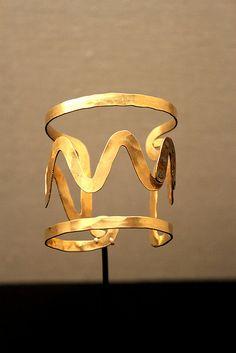 Cuff bracelet by Alexander Calder  @Mandy Bryant Bryant Bryant Wade Costa Blanca #CBFallSpree