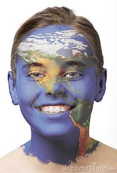 Face Paint - America #facepaint