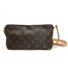 Louis Vuitton Trotteur Monogram Cross body bags Brown Canvas M51240