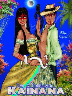 Pombagira Kainana (Maria Caninana) & Exu Kainana (Norato Caninana)
