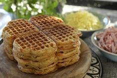 Cooking Recipes, Healthy Recipes, School Lunch, Churros, Food Inspiration, Waffles, Picnic, Food And Drink, Sweets