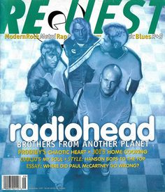 Radiohead - Magazine Covers - 1997 - Request