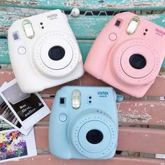 Polaroid Camera Under 40 Dollars Fujifilm Instax Mini, Polaroid Instax Mini, Instax Mini 8, Fujifilm Polaroid, Camara Fujifilm, Polaroid Pictures, Polaroids, Cute Camera, Camera Gear