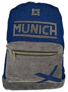 Zaino Munich Uomo Donna Backpack Men Women fashion Jeans country