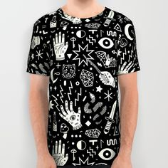 Witchcraft All Over Print Shirt by LordofMasks | Society6