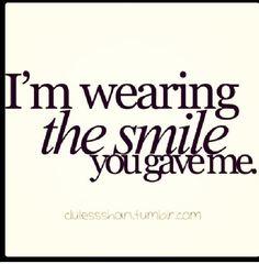 You make me smile :D