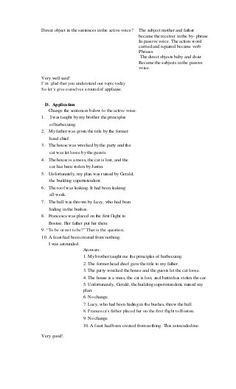 Detailed lesson plan in active and passive Reading Lesson Plans, Science Lesson Plans, Reading Lessons, Science Lessons, English Lesson Plans, English Lessons, Grade 1 Lesson Plan, Active And Passive Voice, Collective Nouns