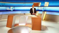 NDR Aktuell 03 Tv Set Design, Stage Design, Virtual Studio, Studio Desk, Tv Decor, Home Decor, Tv Sets, Television Program, Living Room Tv