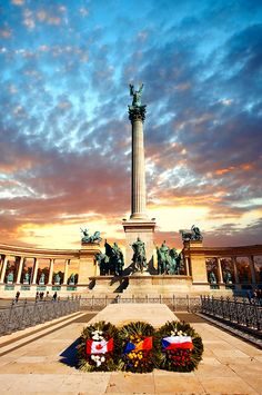 Heroes Square- Budapest Photos. images & Pictures