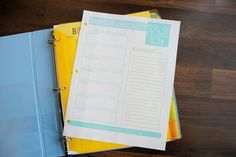 2014 Day Planner {Free Printables!}