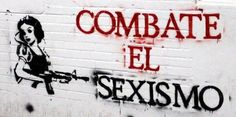 """""""Combat Sexism"""" by didieracm Truth To Power, Power To The People, Feminist Art, Tumblr, Power Girl, Beautiful Words, Street Art, Neon Signs, Boutiques"""