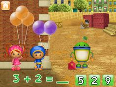 Our 3 and 5 year old just love our Umizoomi app. Looks like many other good ideas on here, too!