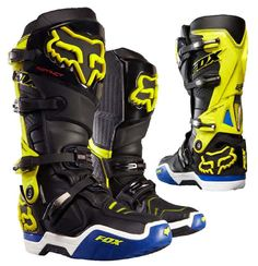 Fox is the leader in motocross and mountain bike gear, and the apparel choice of action sports athletes worldwide. Shop now from the Official Fox Racing® Online store. Dirt Bike Boots, Mx Boots, Dirt Bike Gear, Motocross Love, Motocross Gear, Riding Gear, Riding Boots, Kawasaki Dirt Bikes, Enduro
