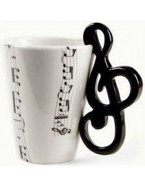 Hrnček husľový kľúč