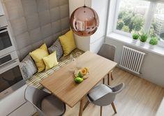 Abordare pragmatica intr-un apartament de 3 camere- Inspiratie in amenajarea casei - www.povesteacasei.ro