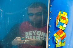 Breath-taking: Underwater Rubik's Cube world record shattered in Liberty Science Center event | NJ.com