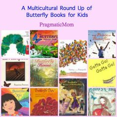 To accompany my Butterfly Garden Exhibit, a list of 10 butterfly themed books for kids with diversity themes. :: PragmaticMom