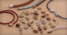 Want a super quick and easy way to finish off your leather cord?  Check out these cord ends. LimaBeads.com