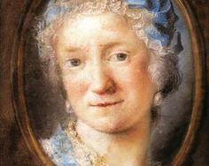 Self-portrait - Rosalba Carriera