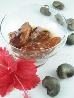 Dominican Cashew Apple Dessert, Dulce de Cajuil - Maris Cakes