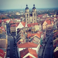 Luther's City Church in Wittenburg, Germany.