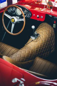 Cooler Than Before - 1957 Ferrari 250 Testa Rosa Ferrari F40, Logo Ferrari, Ferrari Racing, Lamborghini, Ferrari Mondial, Classic Sports Cars, Classic Cars, Alfa Romeo, Luxury Sports Cars