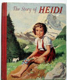The Story of Heidi, Spyri Johanna, 1956