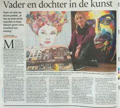 #RIJSSEN #HAAKSBERGEN Vader en dochter Stel verhuizen met hun kunst naar Rijssen