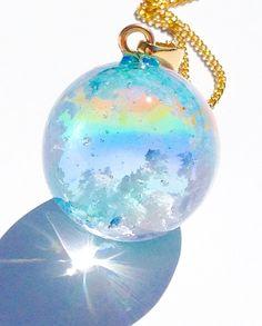 Kawaii Accessories, Kawaii Jewelry, Cute Jewelry, Jewelry Accessories, Diy Crafts For Girls, Diy Resin Crafts, Magical Jewelry, Resin Charms, Fantasy Jewelry