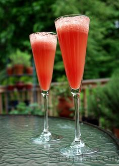 Cóctel de sandía  / Watermelon mimosa
