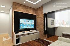 6|6 APARTAMENTO JM - Projeto de Arquitetura de Interiores para sala de estar em Criciúma - SC